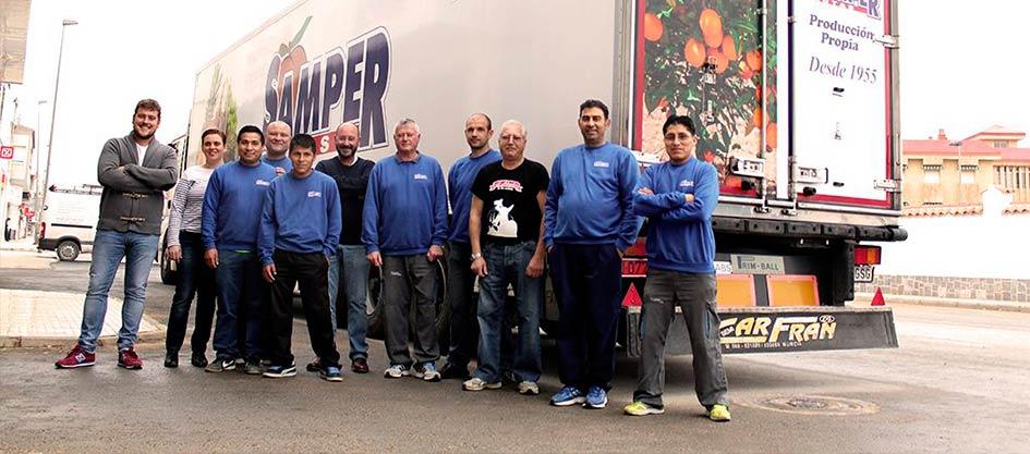 equipo samper