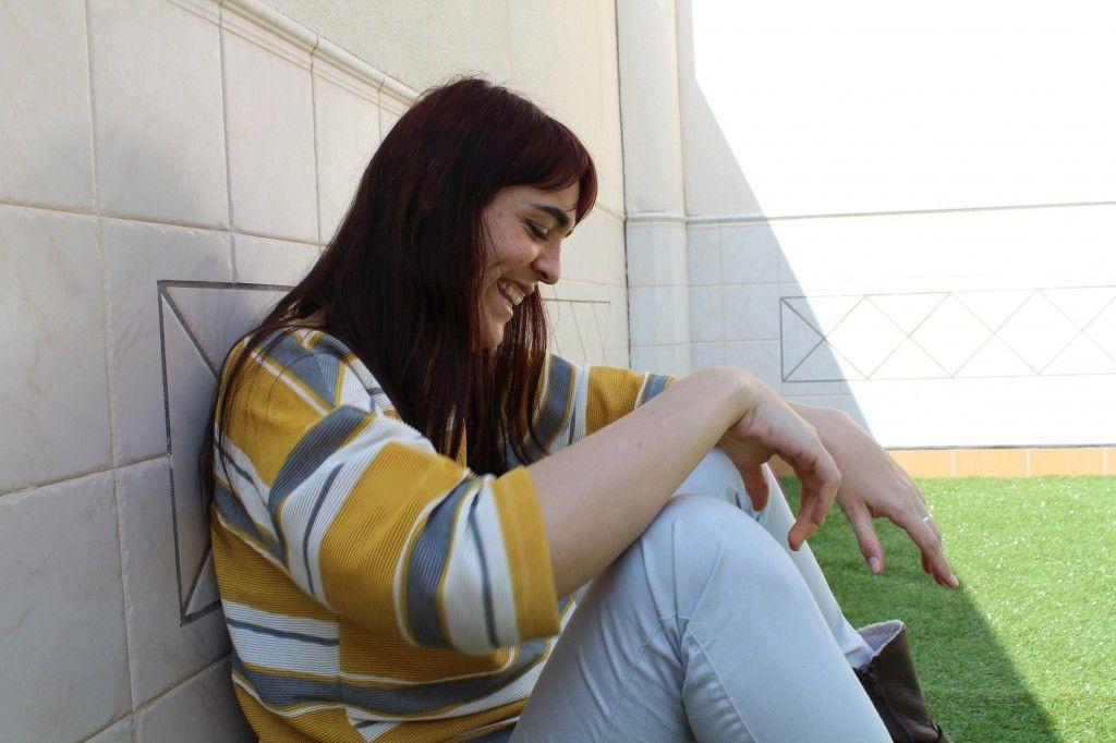 Marta Zafrilla sonriendo