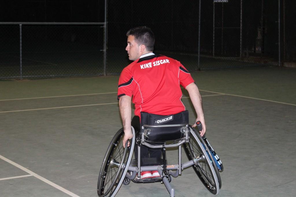 Kike Síscar, máximo nivel deportivo y humano