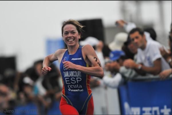 La olímpica, Marina Damlaimcourt, ofrece su mejor versión