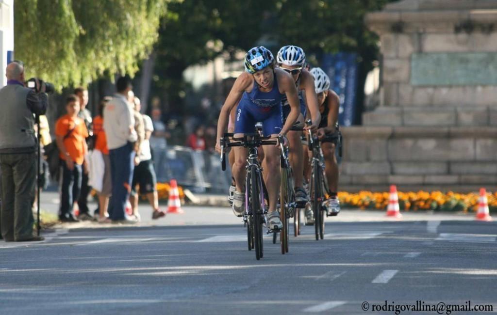 La triatleta, Marina Damlaimcourt