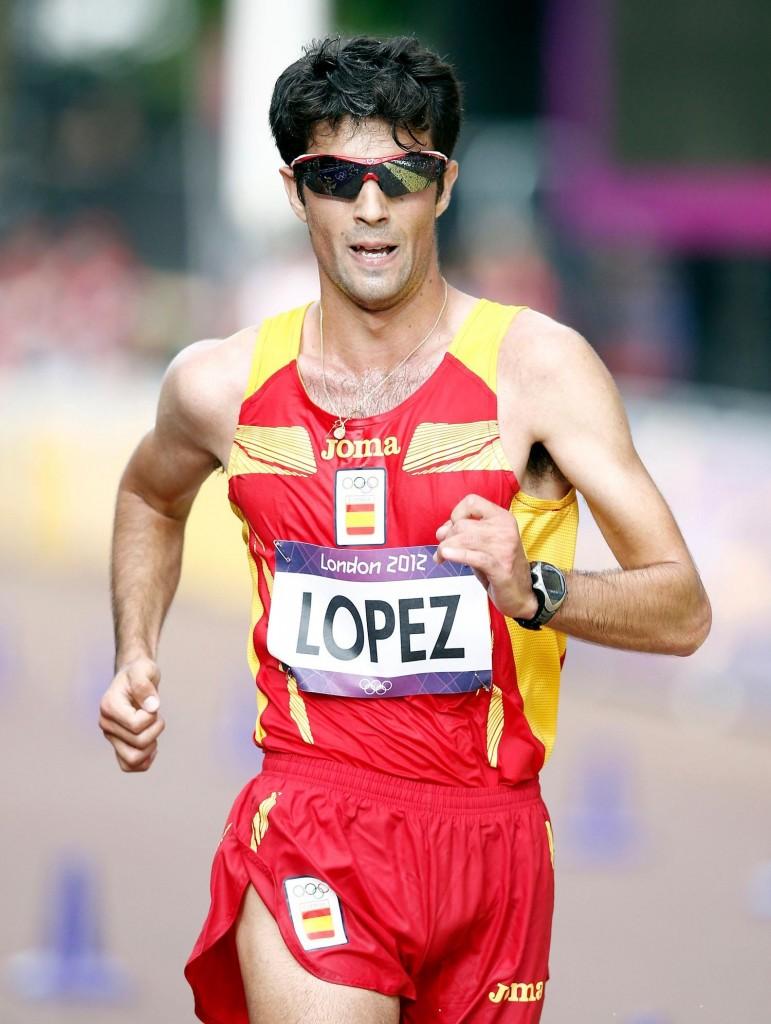 Miguel Ángel Lopez em plena concorrência