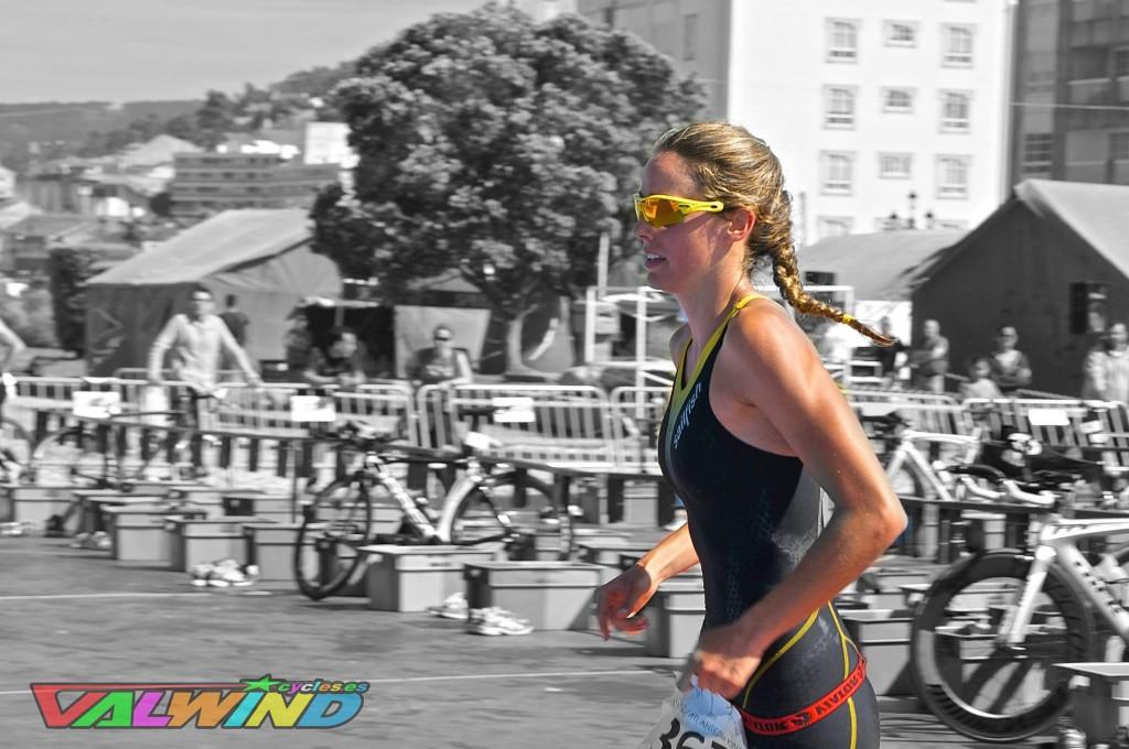 María Ortega de Miguel, triatleta