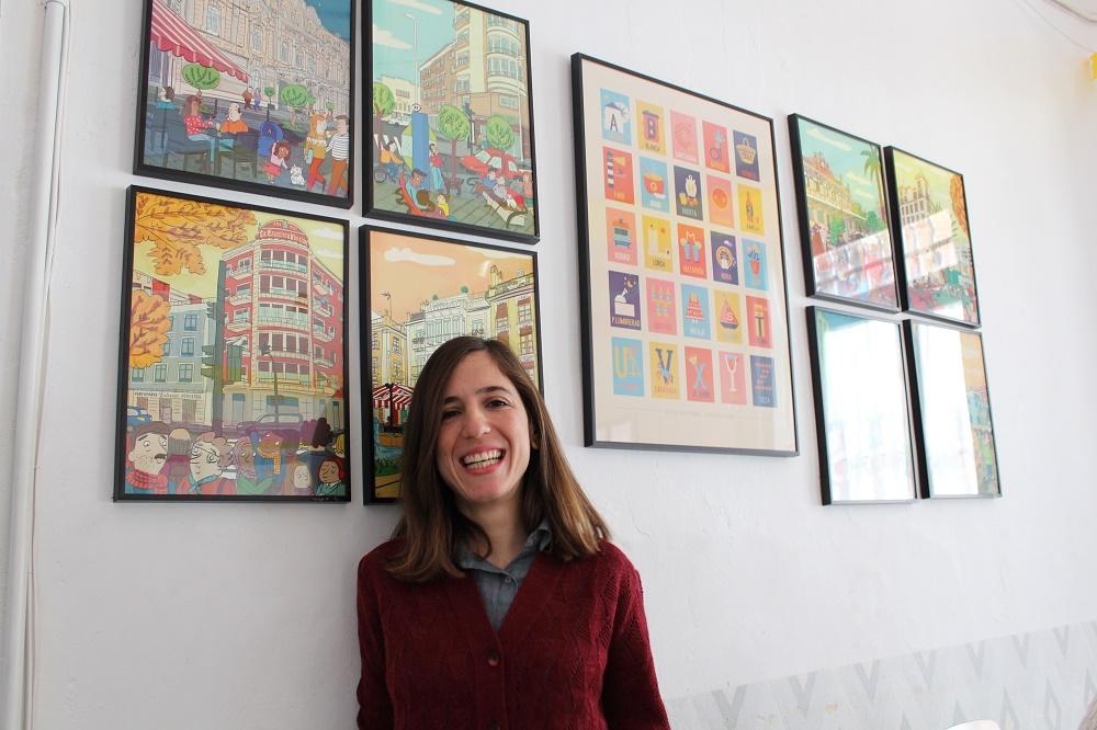 la ilustradora María Serrano habla para Melones el Abuelo