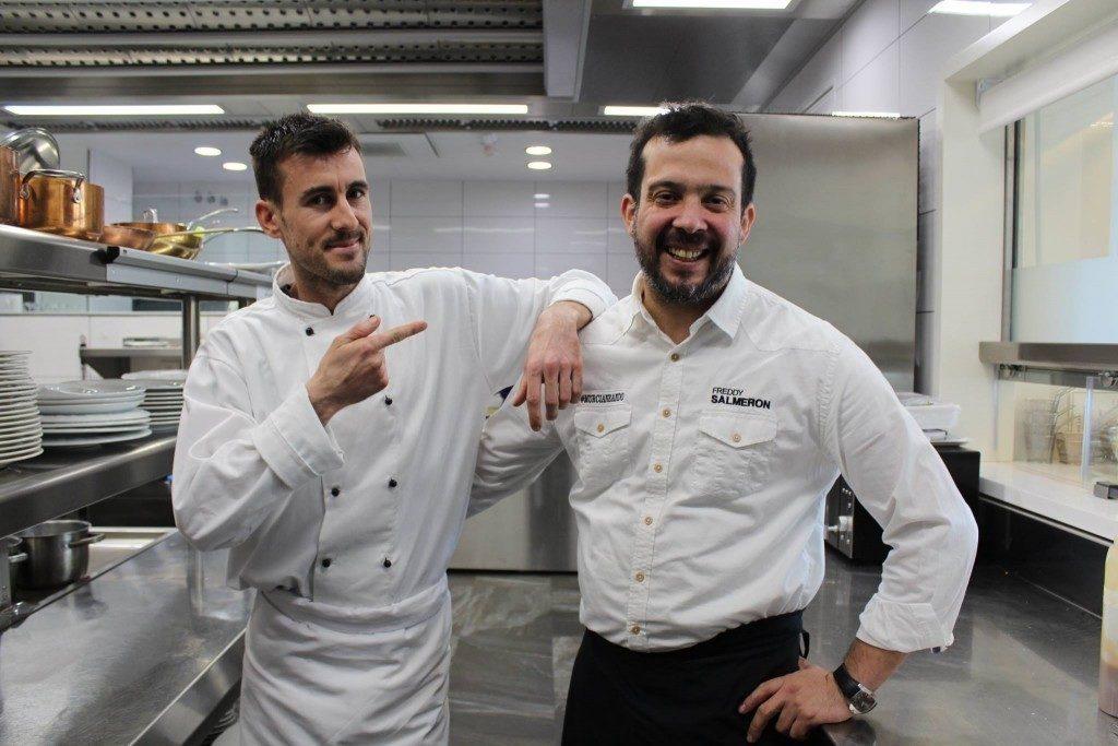 El Chef ejecutivo del Restaurante Hotel 7 Coronas de Murcia
