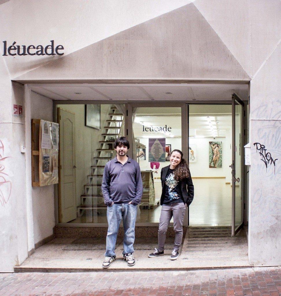 El artista y pintor murciano Lucas Brox habla para Melones el Abuelo en la galería murciana Léucade