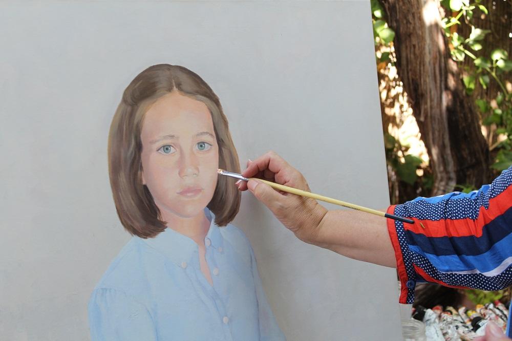 O pintor, Eva Ruiz, entrevista Melones Avô