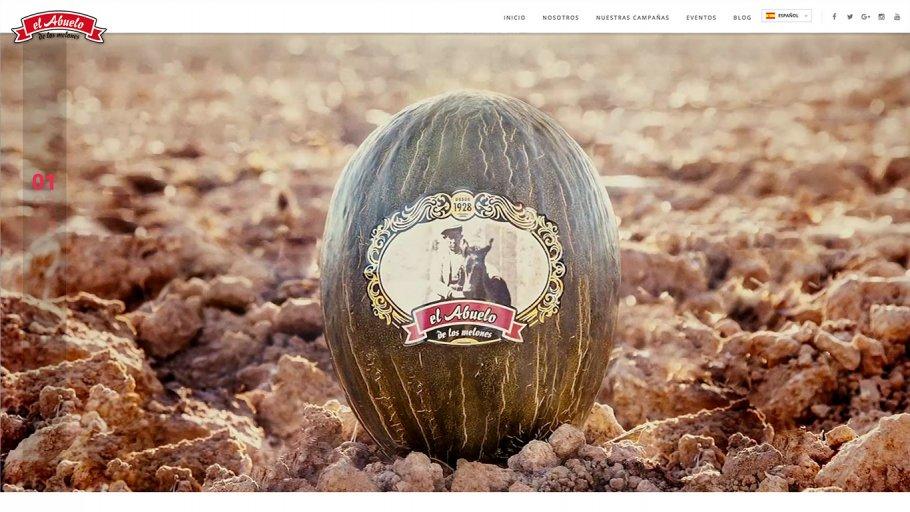web melones el abuelo