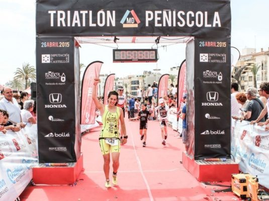 triatlon meloni Peñiscola nonno